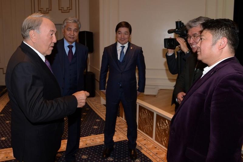 President attended Kazakh Eli film premiere