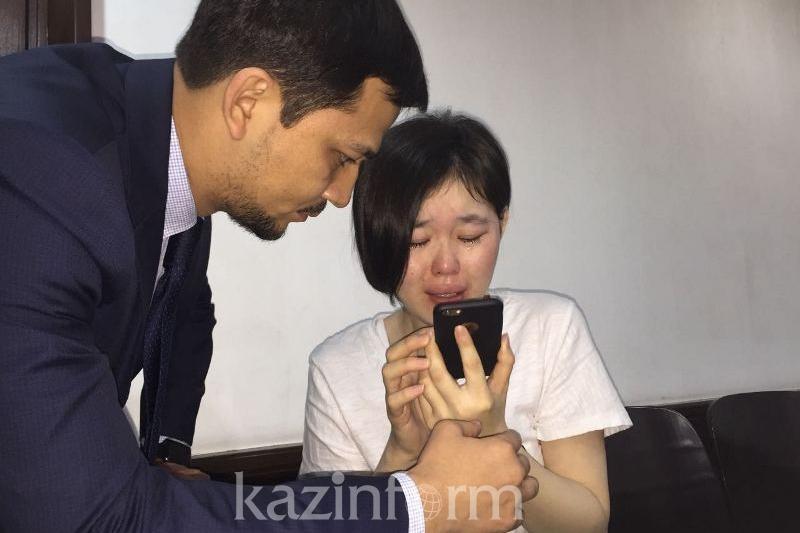 Мать Акжаркын Турлыбай передала в поддержку дочери аудиосообщение