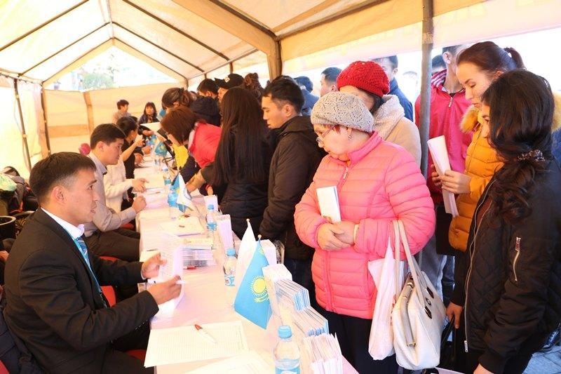 Алматы облысында  434 жасқа жұмыс табылды