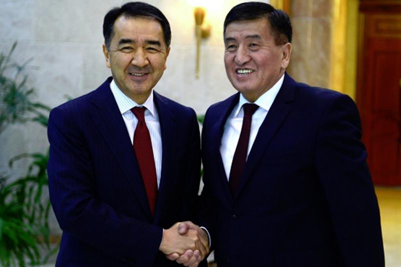 В Бишкеке проходит двусторонняя встреча глав правительств Казахстана и Кыргызстана