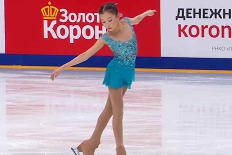 Элизабет Турсынбаева стала пятой на Гран-при России