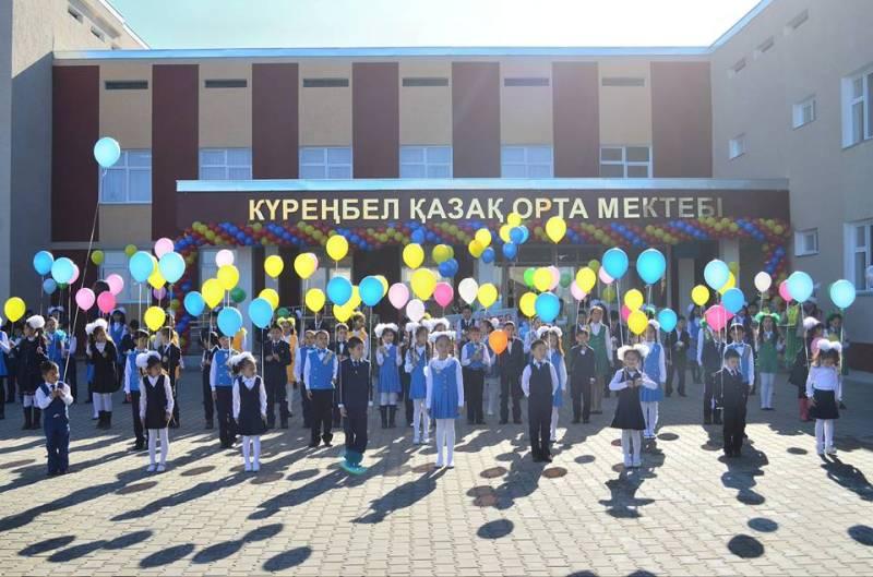Алматы облысында 900 орындық мектеп пайдалануға берілді