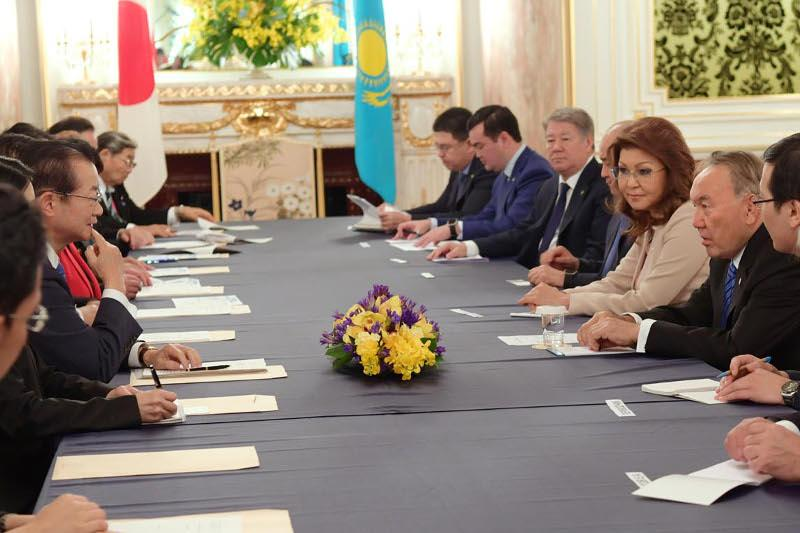 Назарбаев выразил надежду на содействие со стороны Японии антиядерным инициативам Казахстана