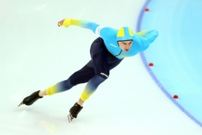 我国运动员获速度滑冰世界杯银牌