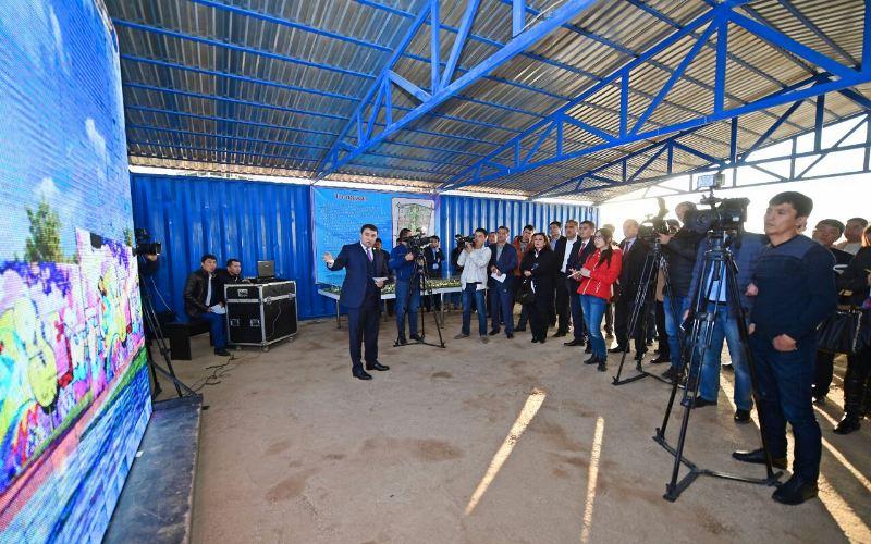 Проект на миллиард: Новый микрорайон построят в Шымкенте