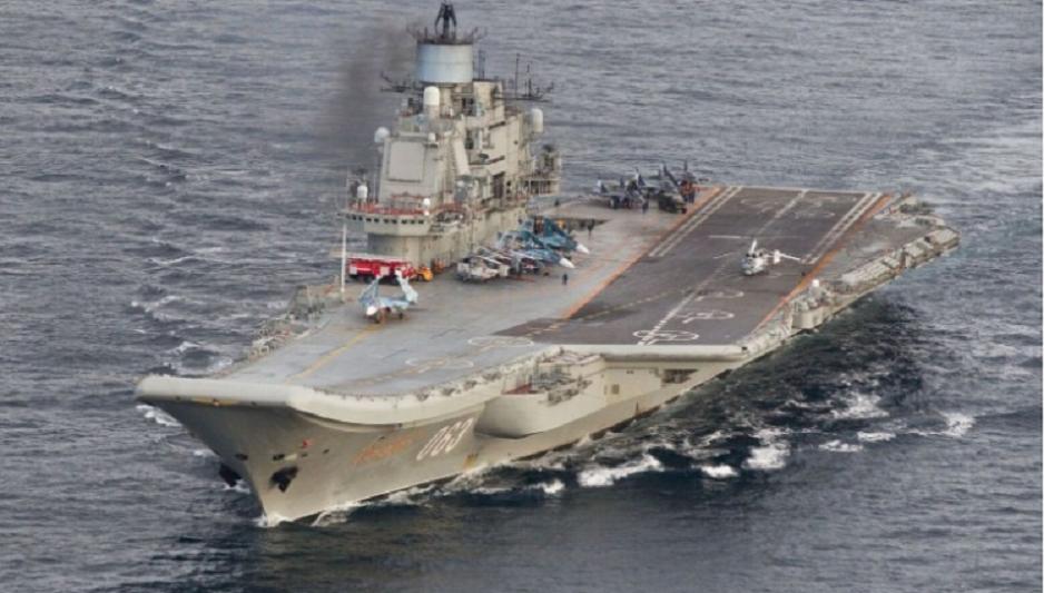 Russian fighter jet crashes into Mediterranean
