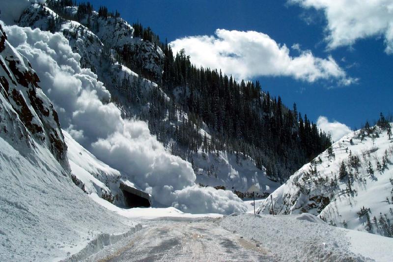 В горах Алматы возможен сход лавин