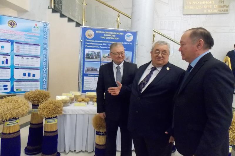 Қарағанды облысының аграршылары шетелге бидай, ұн, зығыр экспорттайды