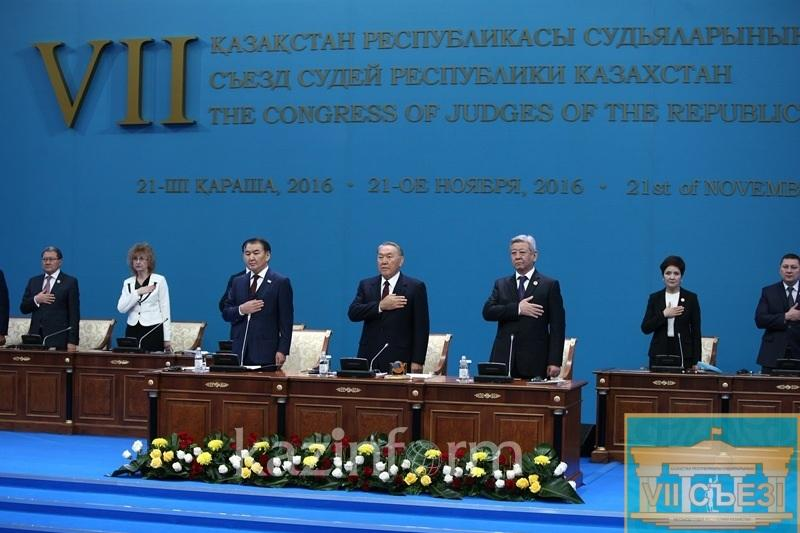 Nazarbayev participates in the Congress of Judges of Kazakhstan