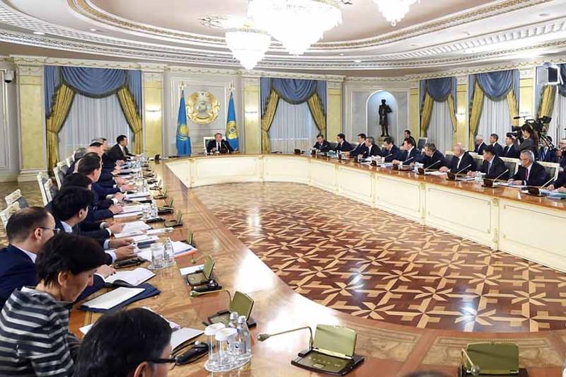 国家改革委员会工作会议在阿斯塔纳举行