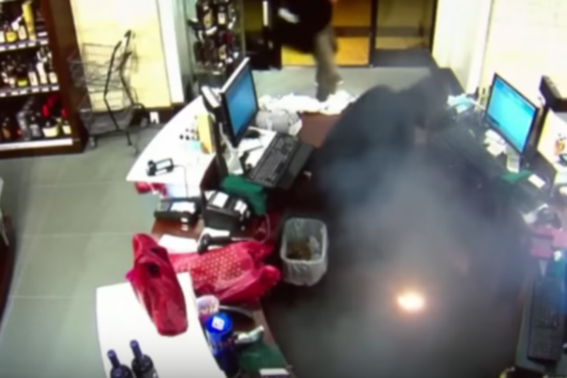 E-cigarette explodes in man's pocket in New York.