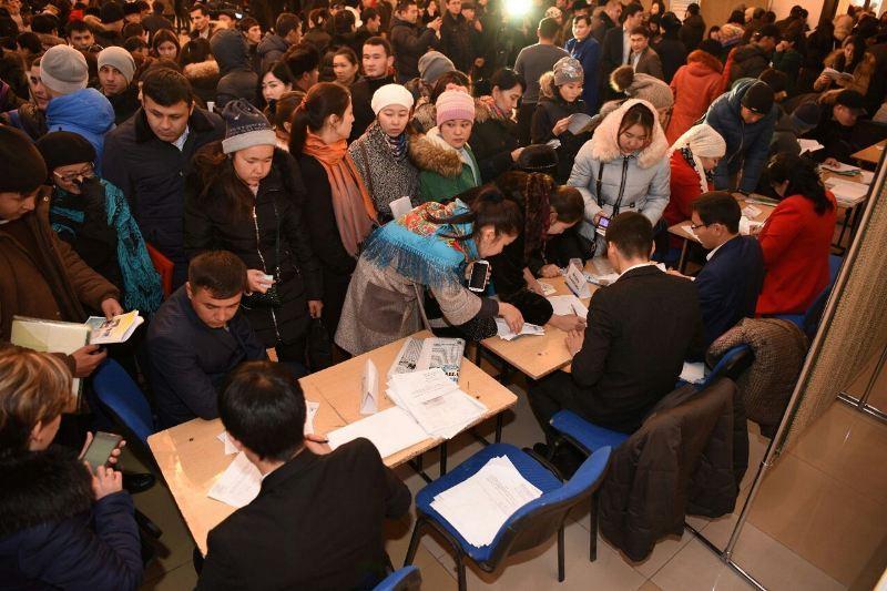 Почти 250 предприятий в Шымкенте ищут новых сотрудников