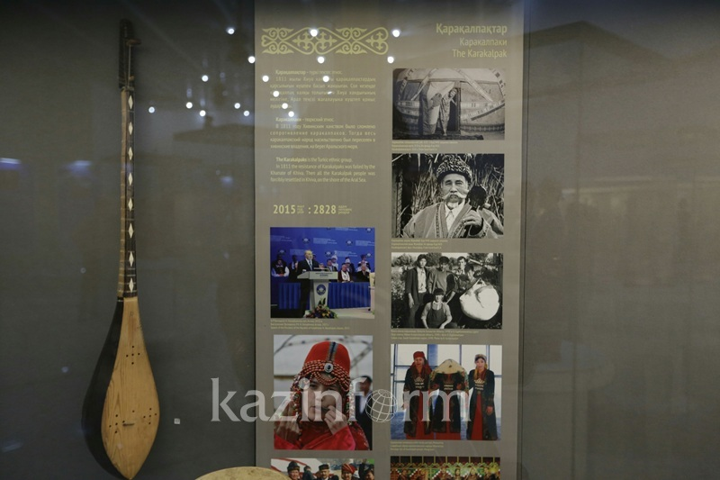 Astana hosts 'Big country-big family' exhibition