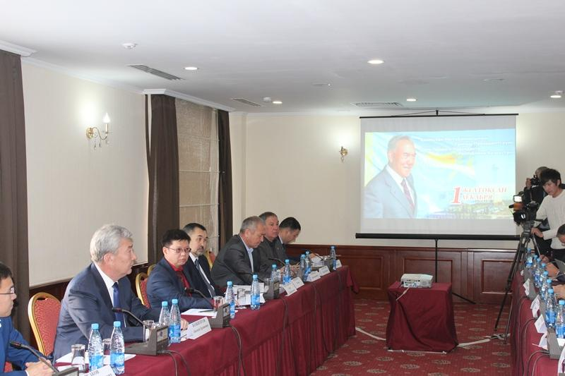 Kazakh embassy hosts event dated to First President Day in Bishkek