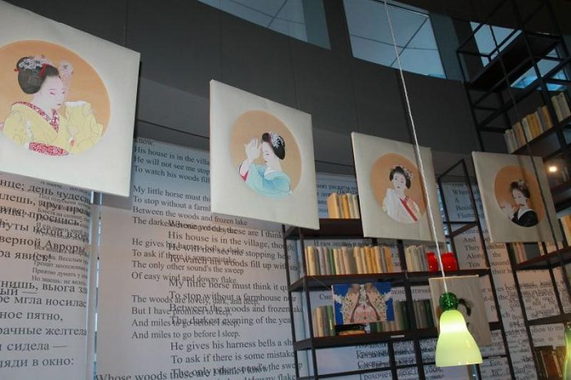 Выставка японской художницы Томоко Хоукё открылась в Атырау