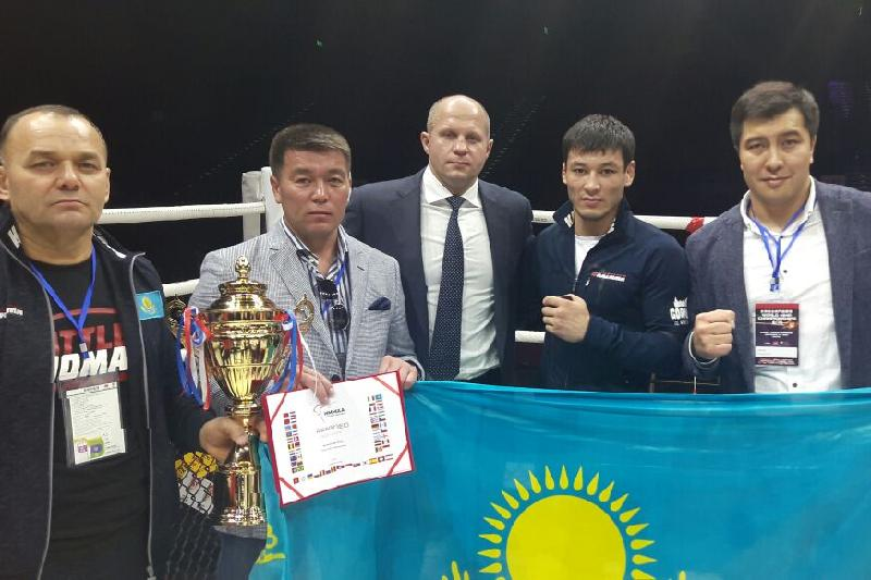 Kazakhstan grabs silver in World MMA Championship