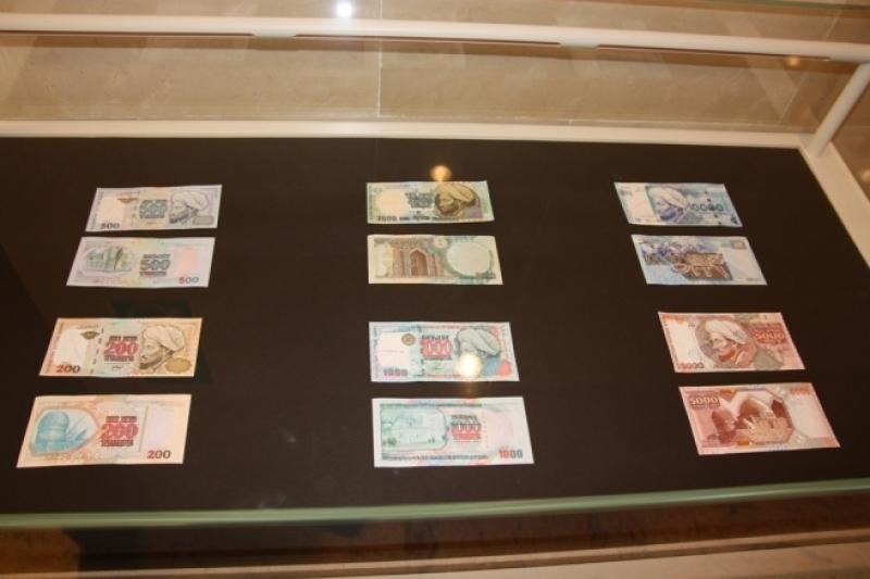 Выставка национальной валюты проходит в Атырау