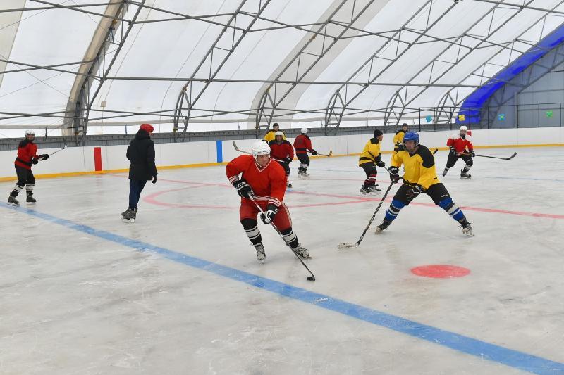 Почти 400 хоккейных кортов работают в СКО