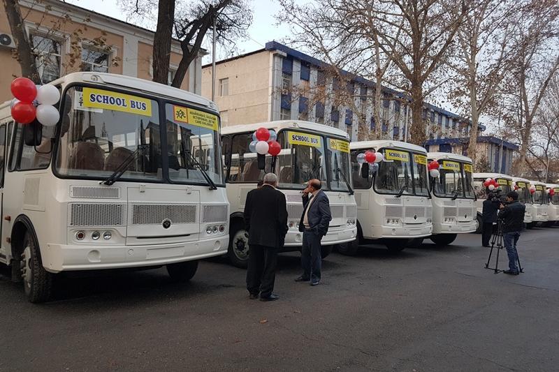 Schoolbus запустили в Шымкенте