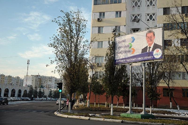Өзбекстандағы президенттік сайлауда 100 мың адам мерзімінен бұрын дауыс берді