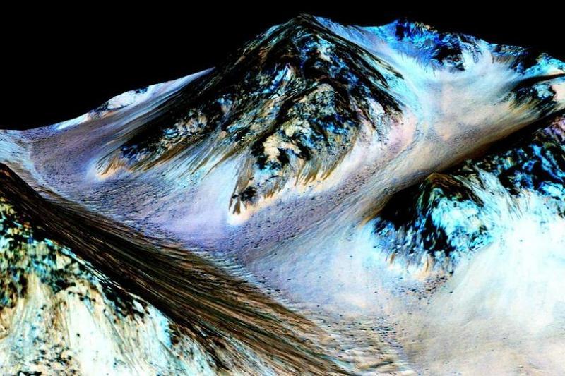 研究发现火星有变暖迹象