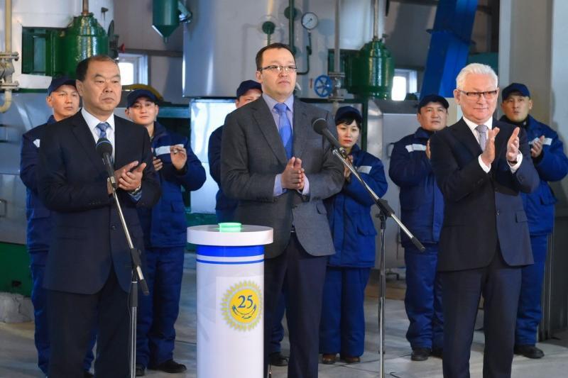 1000 тонн сырья в сутки перерабатывает новый маслозавод в СКО