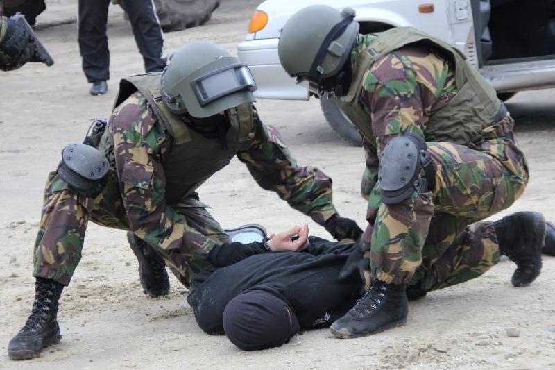 Антитеррористические учения проходят в Павлодаре