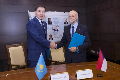 Kazakhstan and Czech Republic to jointly explore and produce uranium