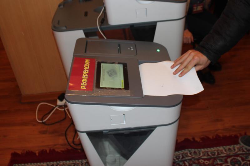 Референдум и выборы в местные кенеши завершились в Кыргызстане