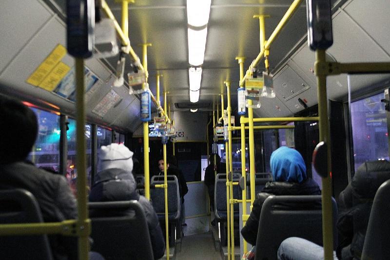 Ақтөбеде №7 бағдардағы автобус жүргізушілері жұмысқа шықпай қалды