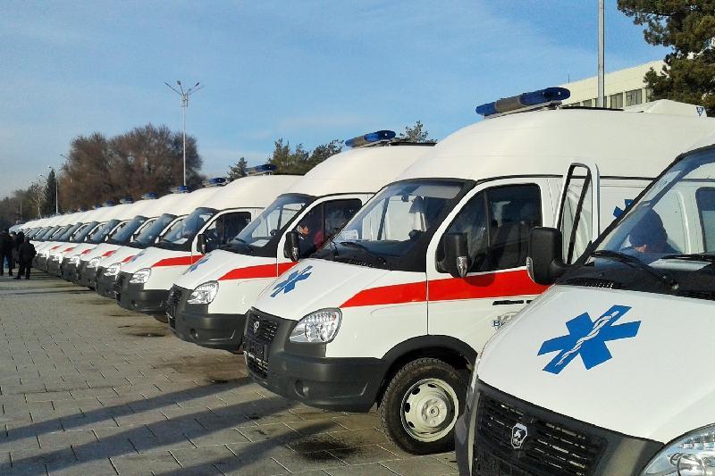Алматы облысында 35 жедел жәрдем көлігі берілді