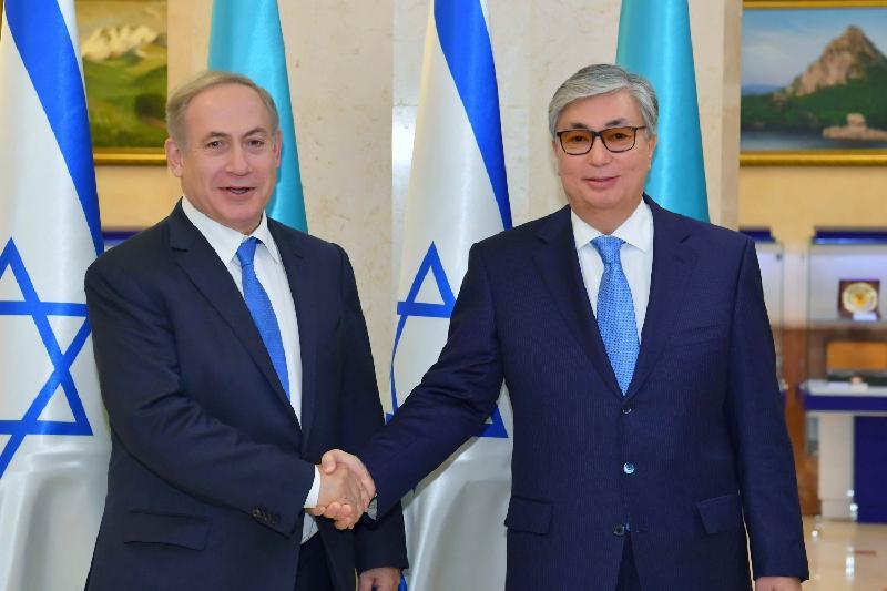 Tokayev met with Israeli PM