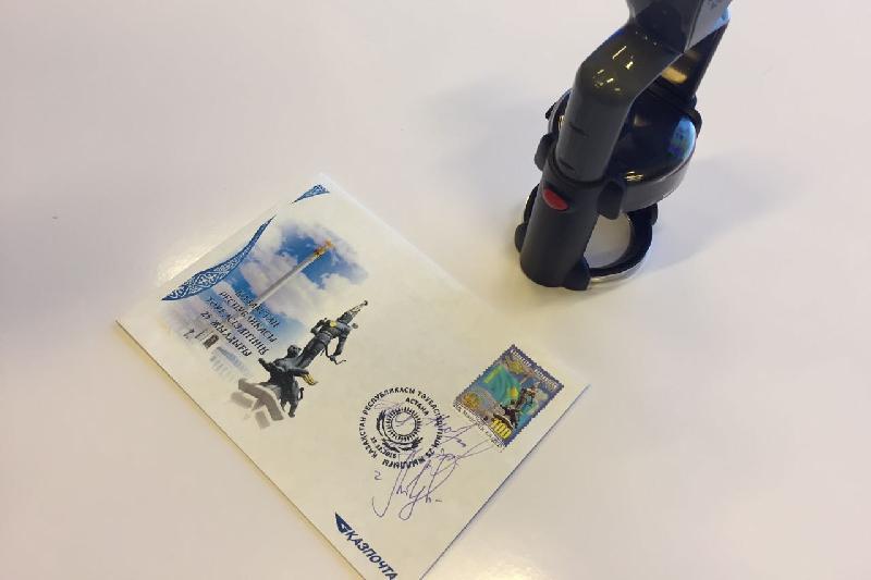 Почтовую марку «Мәңгілік Ел» выпустили в РК