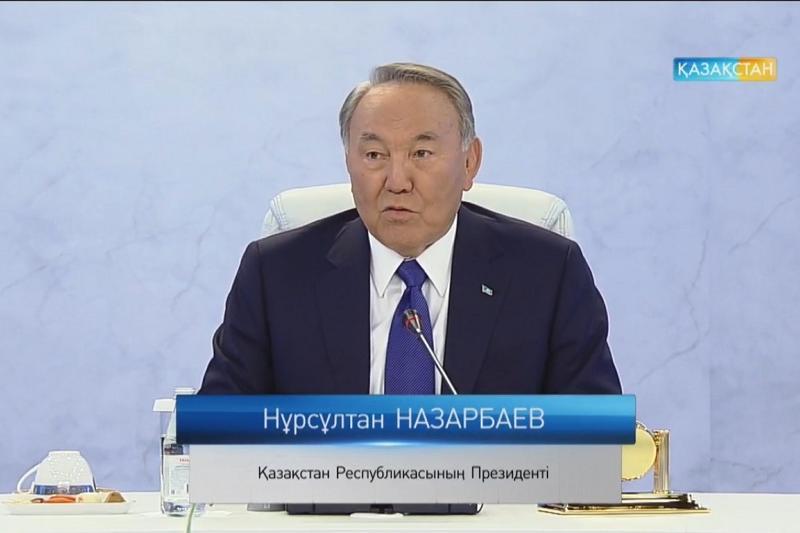 Мен бақытты саясаткермін - Назарбаев
