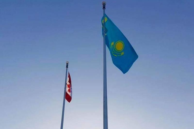 Flag-raising ceremony held in Ottawa on Kazakhstan's Independence Day