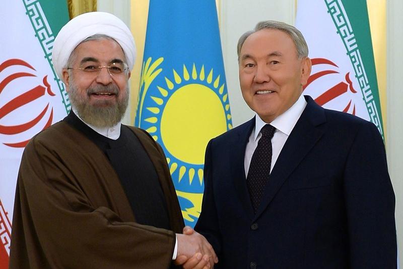 Рухани поблагодарил Назарбаева за вклад в достижение ядерного соглашения Ирана и «шестерки»