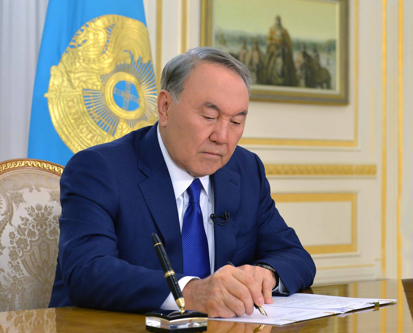 President ratifies agreement granting aid to Kyrgyzstan