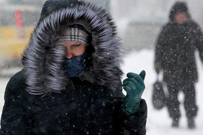 Метели и усиление ветра ожидаются в Казахстане 26 декабря