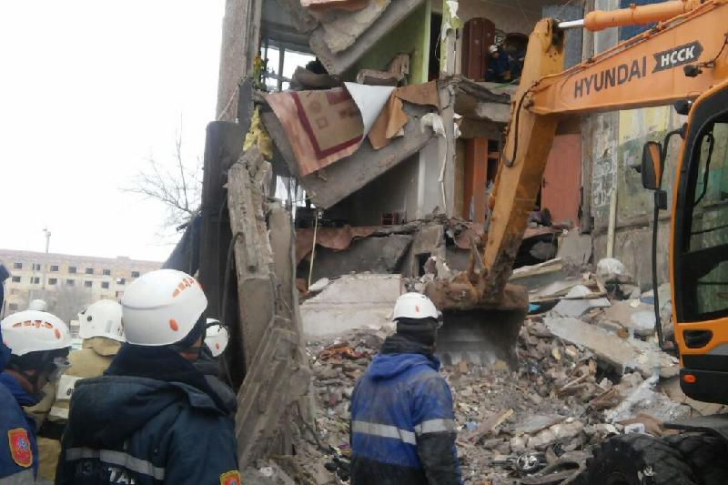 Қарағанды облысындағы Шахан кентінде іздестіру-құтқару жұмыстары аяқталды