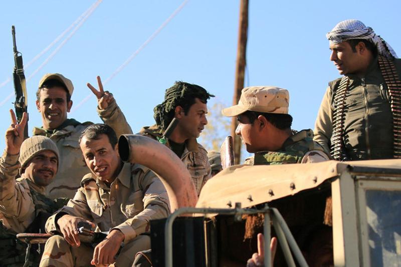 Иракские силы впервые вошли в Мосул