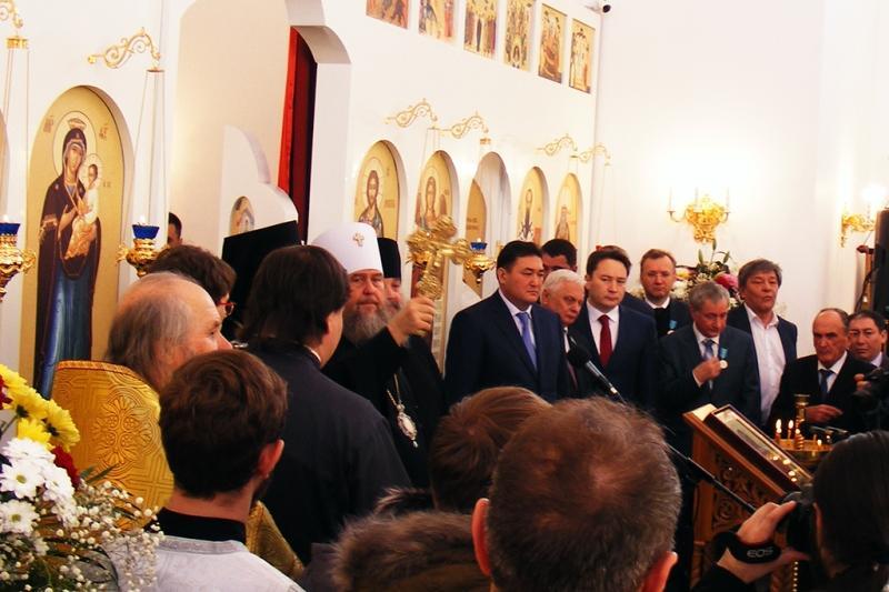 В Павлодаре открылся Михаило-Архангельский собор