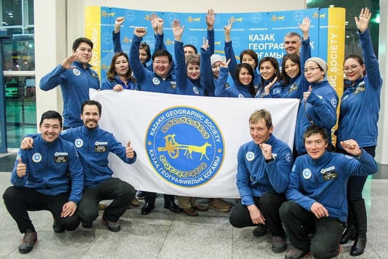 Kazakh expedition returned from South Pole