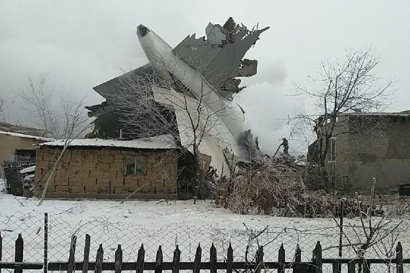Озвучена версия авиакатастрофы под Бишкеком
