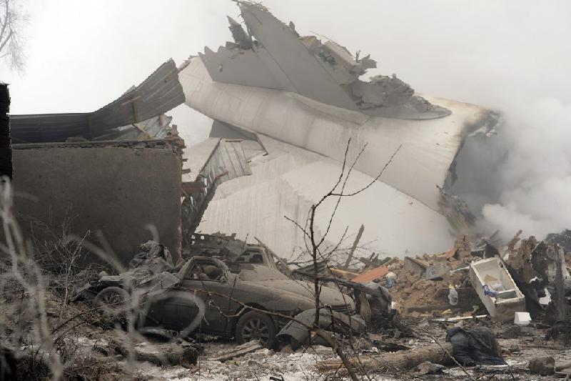 Найден черный ящик потерпевшего крушение в Кыргызстане самолета