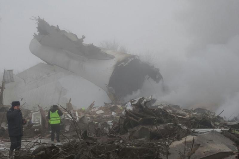 Для расследования авиакатастрофы в Бишкек прилетят специалисты МАК
