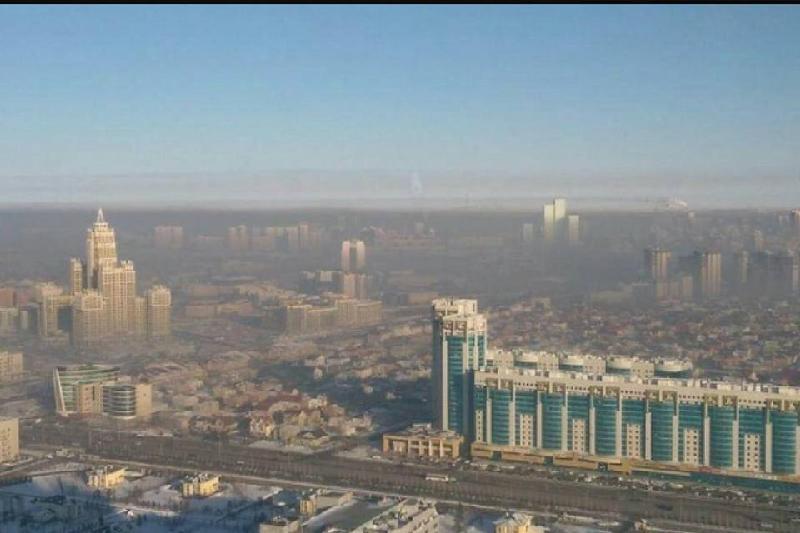 Астана тұрғындары қаланы басқан түтінге шағымдануда