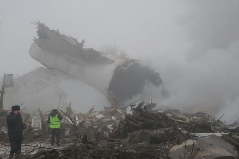 Комиссия МАК приступила к расследованию авиакатастрофы в Бишкеке