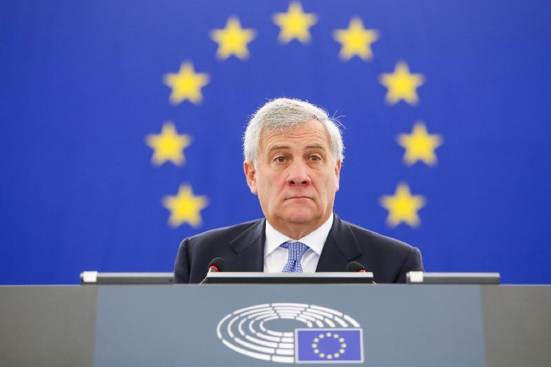 Президентом Европарламента избран Антонио Таяни