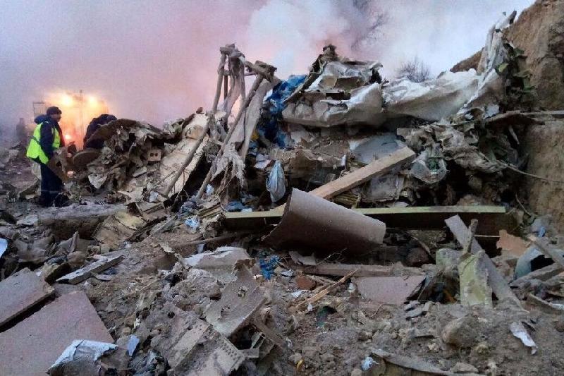 Рухнувший под Бишкеком Boeing был застрахован в Казахстане