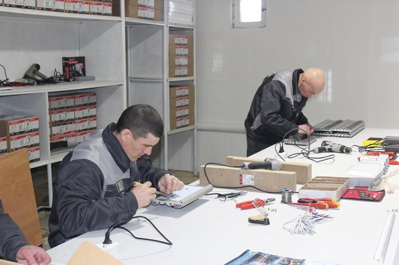 Светодиодные лампы начнут выпускать в костанайской колонии